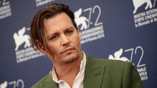 Johnny Depp à la 72e Mostra de Venise (4 septembre 2015)  (Ekaterina Chesnokova / Ria Novosti / AFP)