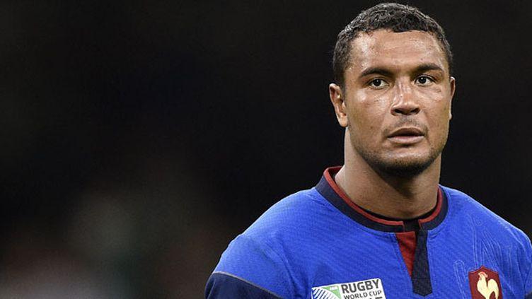 Le joueur du XV de France, Thierry Dusautoir