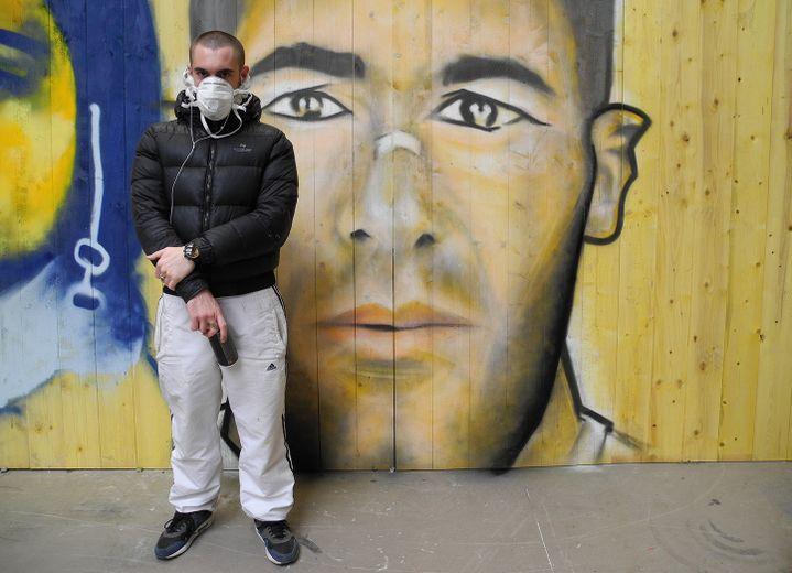 Zidane par Mathias  (Laurence Houot / Culturebox)