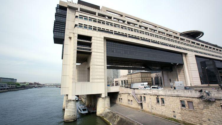Le ministère de l'Economie et des Finances, quai de Bercy à Paris, le 24 mars 2010. (LOIC VENANCE / AFP)