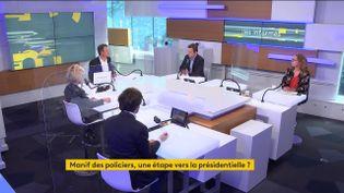 Le plateau des Informés du matin du 20 mai 2021. (FRANCEINFO / RADIO FRANCE)