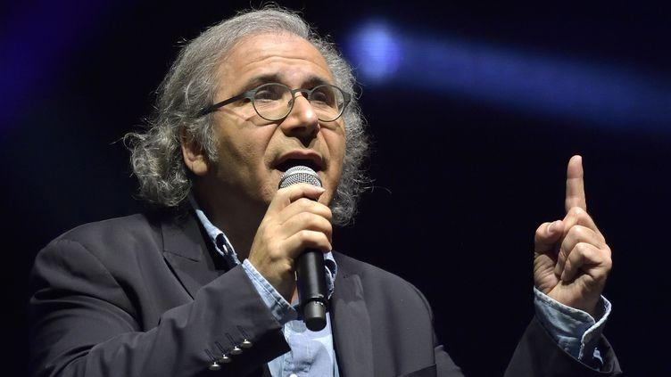 Frédéric Zeitoun à l'Olympia, en 1ère partie d'Enrico Macias (janvier 2016)  (Sadaka Edmond / SIPA)