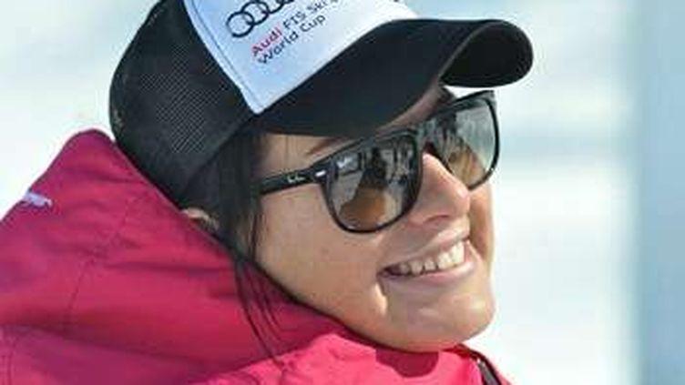 Photo non datée de la skieuse russeMaria Komissarova, avant son accident. (AP/SIPA / AP)