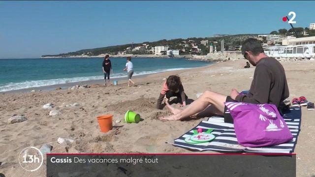 Vacances : à Cassis, des touristes ont dépassé la limite des dix kilomètres pour profiter du soleil