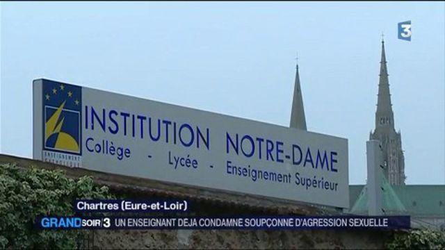 Chartres : un enseignant mis en examen pour agression sexuelle sur l'un de ses élèves