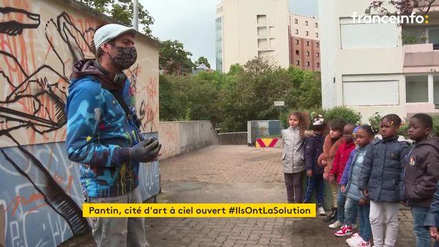 À Pantin en Seine Saint-Denis, un musée à ciel ouvert pour recréer du lien