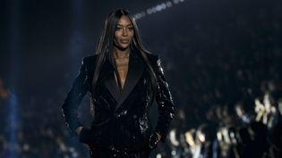 Saint-Laurnent printemps-été 2020 pendant la Paris Fashion Week, le 24 septembre 2019 (IK ALDAMA / IK ALDAMA)