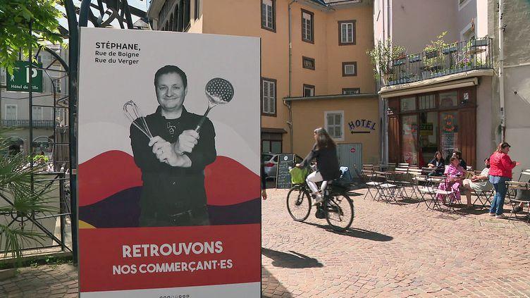 """Campagne de communication de la ville de Chambéry """"Retrouvons Nos Commerçant·es"""" (France 3 AURA)"""