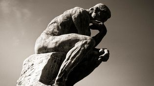 """musée Rodin, sculpture de Rodin,"""" le Penseur""""  (JACQUES SIERPINSKI / AURIMAGES)"""