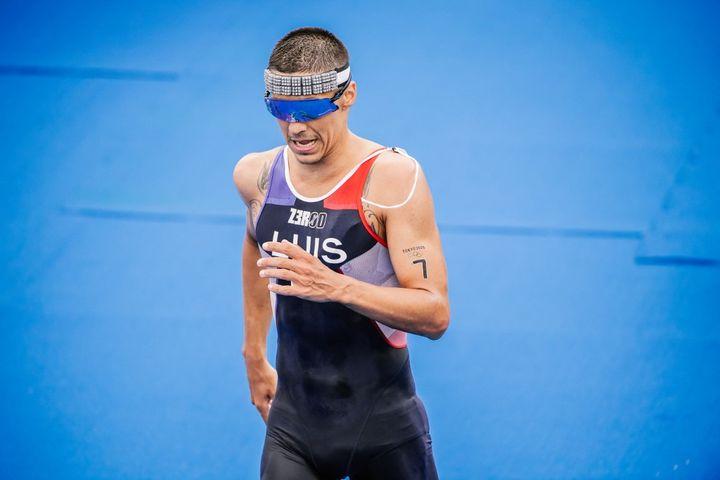 Vincent Luis a terminé à une décevante 13e place lors du triathlon (BALLET PAULINE / KMSP)