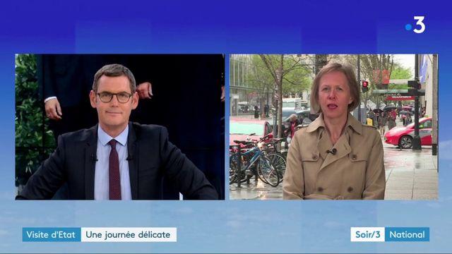 Emmanuel Macron aux Etats-Unis : une journée délicate
