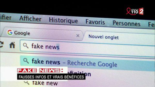 """""""Complément d'enquête"""". Fake news : fausses infos et vrais bénéfices"""