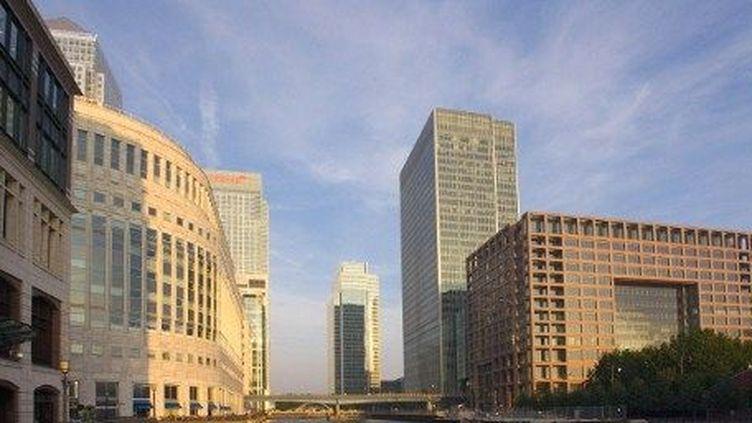 Le quartier des affaires Canary Wharf, docklands, à Londres. (AFP/JOHN DEVRIES/TIPS/PHOTONONSTOP)