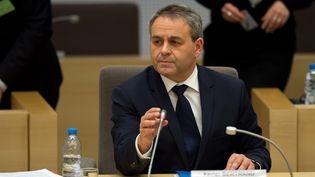 Xavier Bertrand, président de la région Nord-Pas-de-Calais-Picardie, à Lille (Nord), le 4 janvier 2016. (DENIS CHARLET / AFP)