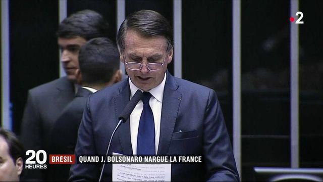 Brésil : Jair Bolsonaro joue un drôle de jeu avec la France