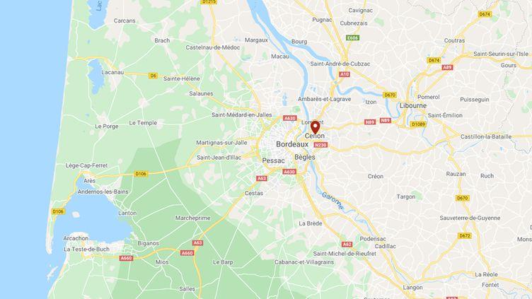 Cenon, dans la banlieue de Bordeaux (Gironde). (GOOGLE MAPS / FRANCEINFO)