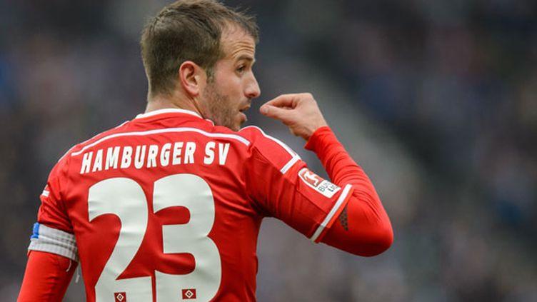 Le joueur néerlandais de Hambourg, Rafael van der Vaart