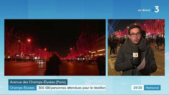Réveillon du 31 décembre : les Champs-Élysées sous haute surveillance
