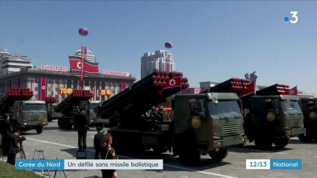 Corée du Nord : un défilé sans missile balistique