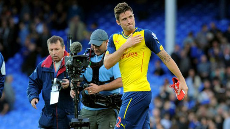 Olivier Giroud (Arsenal) (GREIG COWIE / BACKPAGE IMAGES LTD)