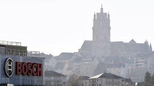 L'usine Bosch à Onet-le-Château Aveyron). (JOSE A. TORRES / AFP)