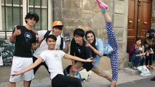 La compagnies taïwanaise Chang Dance Theater  (Sophie Jouve)