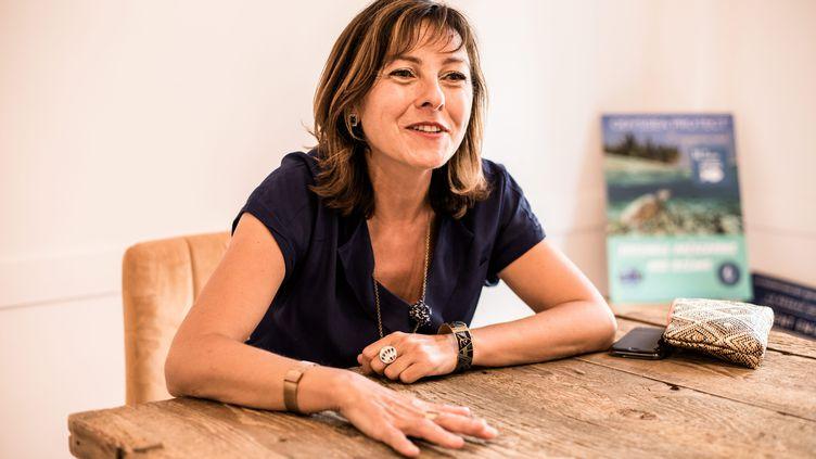Carole Delga, la présidente de la région Occitanie, le 12 juin 2020. (NICOLAS PARENT / MAXPPP)