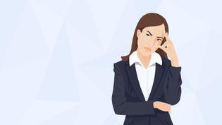 Le burn-out touche les femmes de manière plus significative. (PASCALE BOUDEVILLE / FRANCETV INFO)
