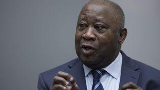 L'ancien président ivoirien Laurent Gbagbo, le 15 janvier 2019 à la Cour pénale internationale (La Haye, Pays-Bas).  (PETER DEJONG / ANP)