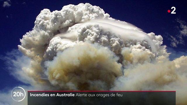 Incendies en Australie : alerte aux orages de feu