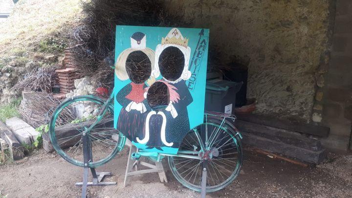 Chez Jeanine, sur la parcours de la Loire à vélo. (FARIDA NOUAR / RADIO FRANCE)