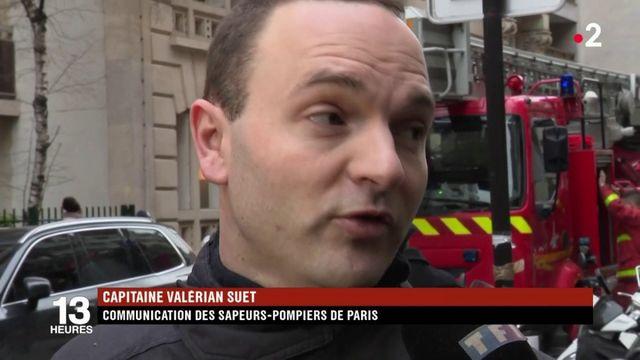 """Paris : un incendie d'une """"incroyable violence"""""""
