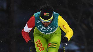 Mathilde Petitjean a disputé deux épreuves de ski de fond pour le Togo aux JO de Pyeongchang en 2018. (HENDRIK SCHMIDT / DPA-ZENTRALBILD)