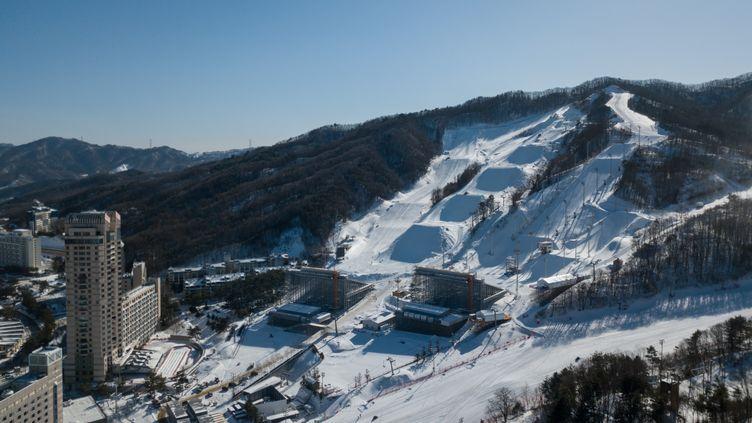 La station de Pyeongchang, en Corée du Sud. (ED JONES / AFP)