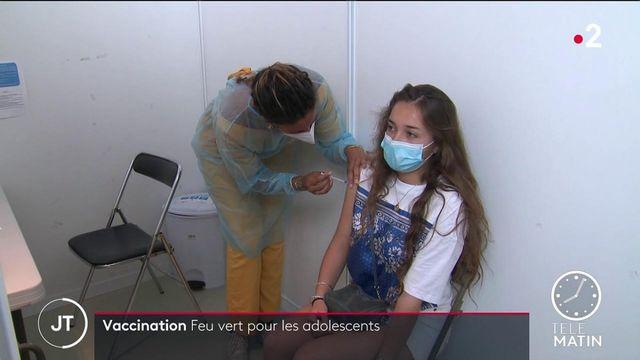 Covid-19 : la vaccination ouverte aux 12-18 ans dès le 15 juin