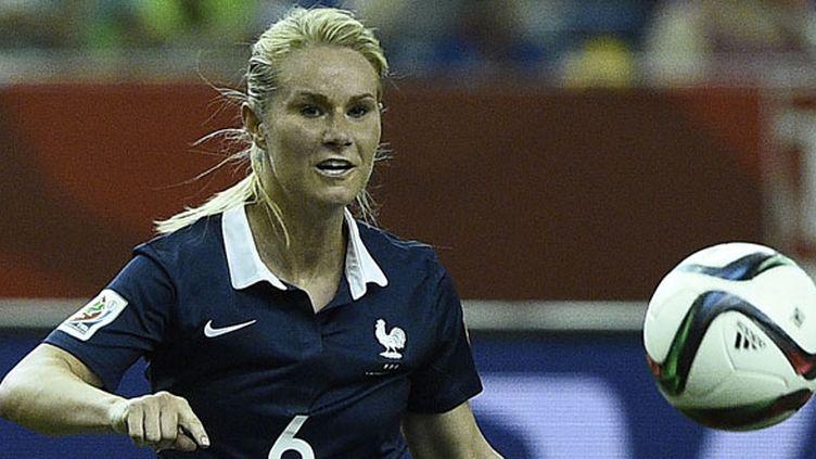 La joueuse de l'équipe de France, Amandine Henry