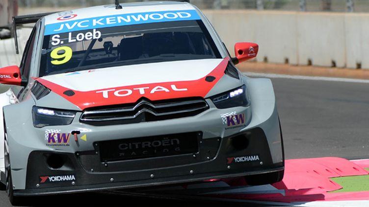 Sébastien Loeb (WTCC)  (FADEL SENNA / AFP)