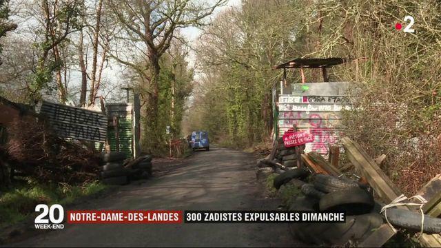 Notre-Dame-des-Landes : 300 zadistes expulsables dimanche