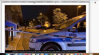 Un homme de 37 ans a été tué par balles aprèsun nouveau règlement de comptes dans la soirée du vendredi 5 juin à Marseille. (Rabah Aït Hamadouche / France 3 Paca)