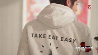 Take eat easy (CAPTURE ECRAN FRANCE 2)