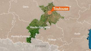 Six membres présumés d'une filière jihadiste ont été interpellés dans la région de Toulouse (Haute-Garonne) et Albi (Tarn), annonce le ministère de l'Intérieur dans un communiqué, le 8 février 2015. (FRANCE 3 MIDI-PYRÉNÉES )