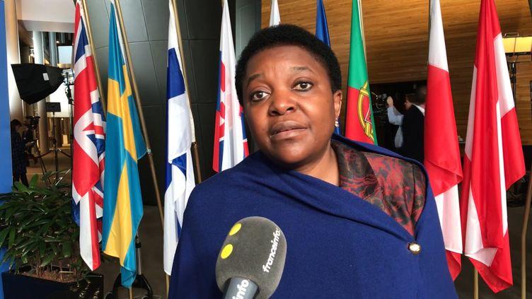 Cécile Kashetu Kyenge, députée européenne. (FRANCEINFO / RADIOFRANCE)