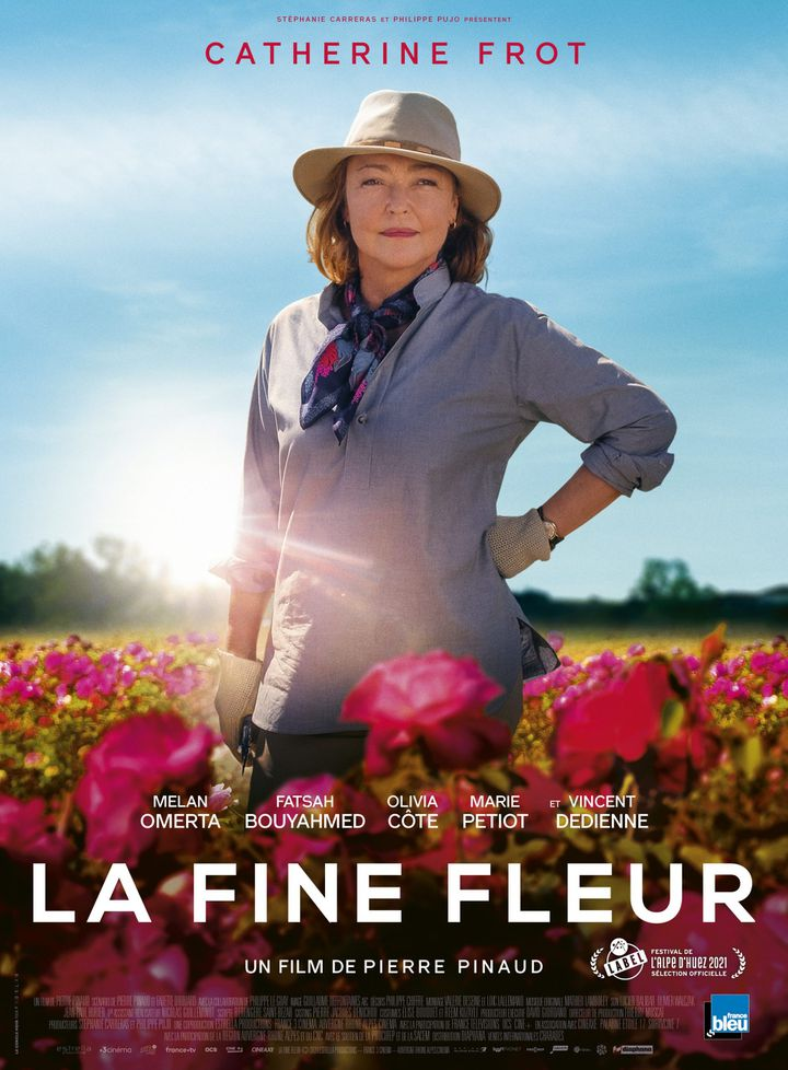"""Affiche de""""La fine fleur"""", de Pierre Pinaud, juin 2021 (Diaphana Distribution)"""