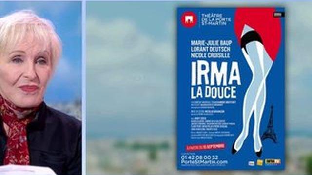 Nicole Croisille à l'affiche de Irma la Douce