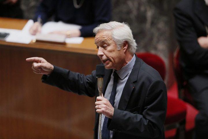 Le ministre du Travail François Rebsamen à l'Assemblée nationale (2014)  (PATRICK KOVARIK / AFP)