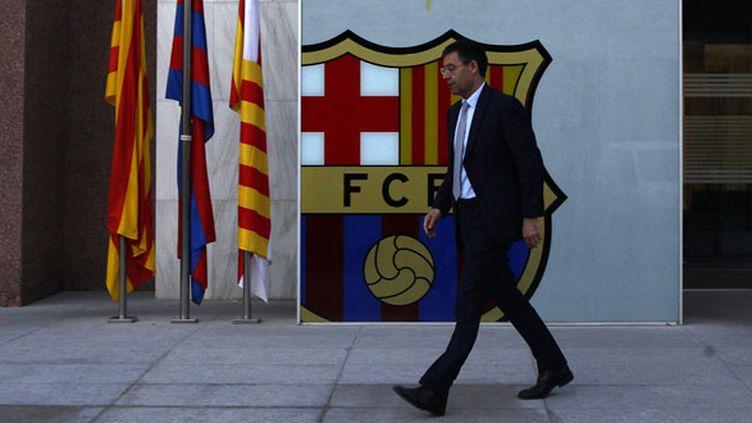 Le président du FC Barcelone, Josep Maria Bartomeu