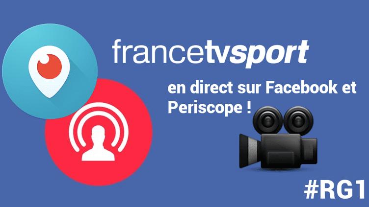 Rejoignez nous sur Periscope & Facebook