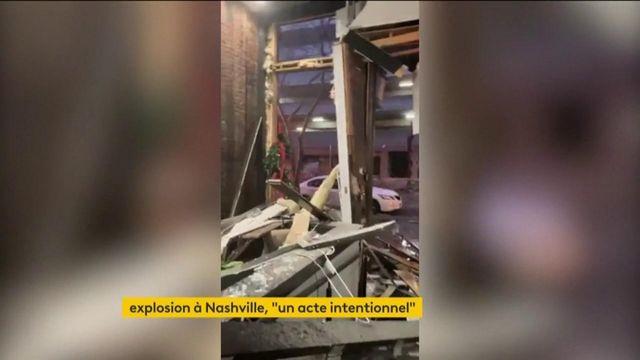 Etats-Unis : un camping-car explose dans le centre de Nashville