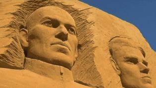 Festival de Sculptures de sable, Le Touquet  (Capture d'écran France 3/Culturebox)
