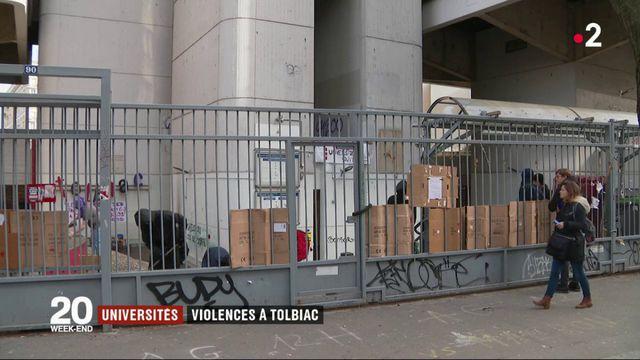 Paris : des violences à l'université Tolbiac vendredi soir